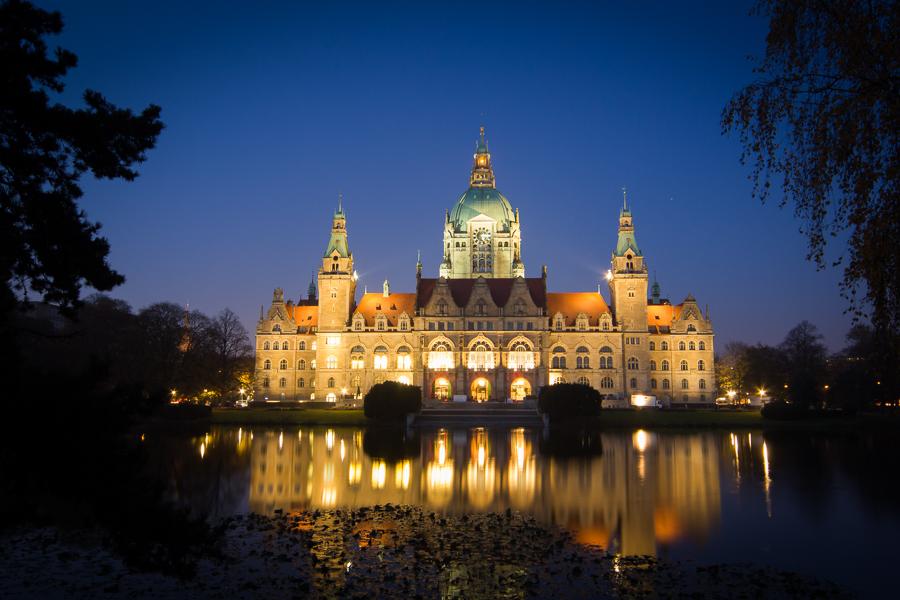 Nachtfotografie in Hannover