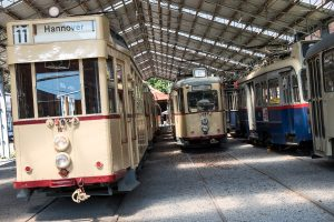 Fotografieren im Straßenbahn-Museum @ Straßenbahn-Museum Hannover